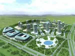 3D модель Красноярск-Сити